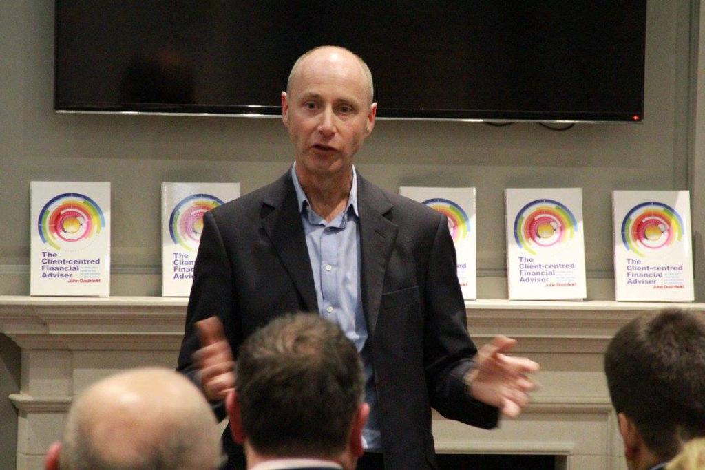 John Dashfield book launch